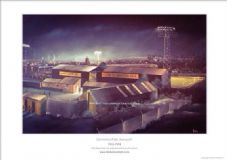 Newport County Somerton Park 1912-1993 - A3 Unframed print